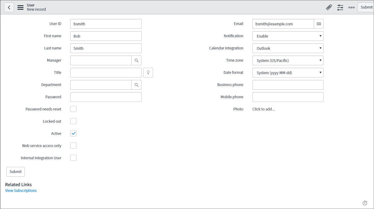 ServiceNow integration (version 5 2) – xMatters Support