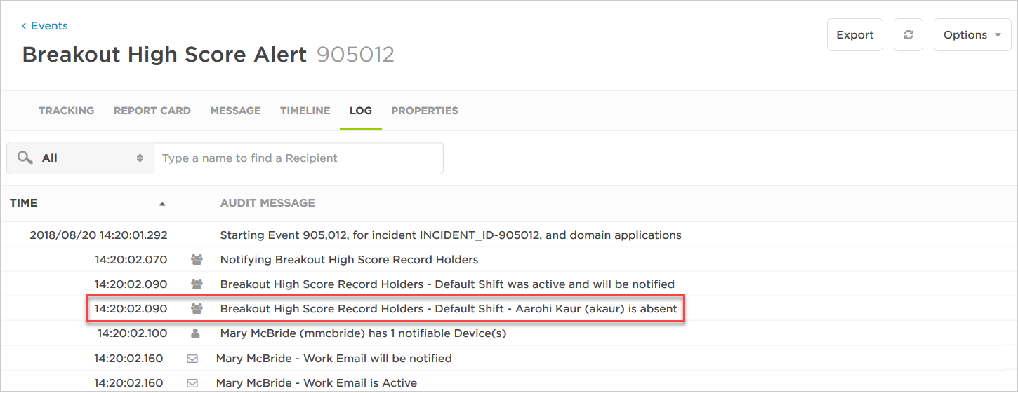 temporary-absence-log-message.png