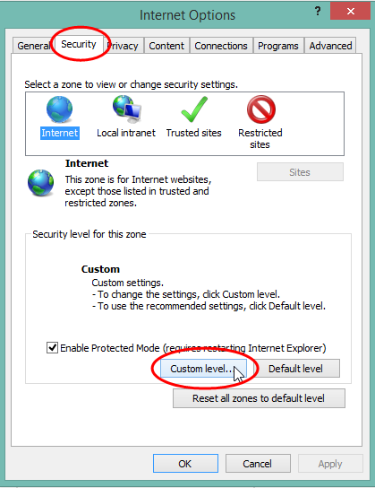 Missing icons when using Internet Explorer 11 – xMatters Support