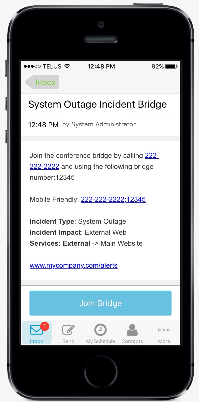 Remember The Code Mobile App Users Can Just Tap Phone Number In Message To Call And Then Again When Prompted Dial Bridge
